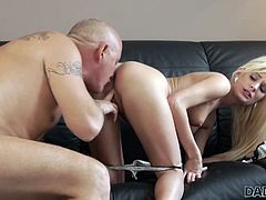 DADDY4K. Teen Candee Licious copulates with boyfriend's...