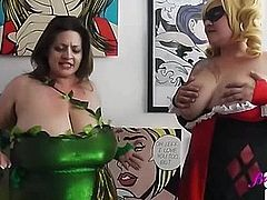 Harley and Ivy titjob Part 1 Watch FULL on bigtittyvideos com