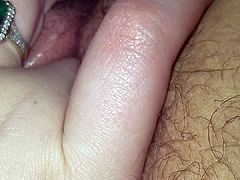Pretty Pink Pussy and Clit Ring Play- Evie Erotica