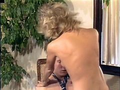 Ginger Lynn sucks and fucks a young patient