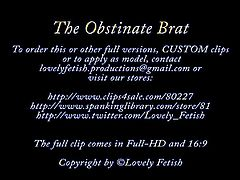 Clip 16Lil - The Obstinate Brat - Dualscreen