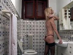 Morbid stepson spying his hot stepmom pt.1 - Watch Part2 On HDMilfCam.com