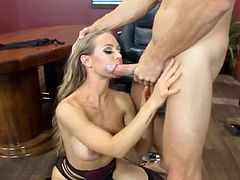 Nicole Aniston cum in mouth video