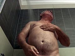 Italian stallion showering
