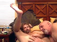 Amateur gay couple having some hardcore anal fun together