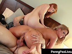 Hot Criminals Penny Pax & Brooklyn Chase Get Banged By Cop!