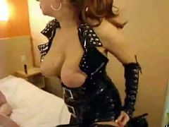 my Latex domina uses my asshole