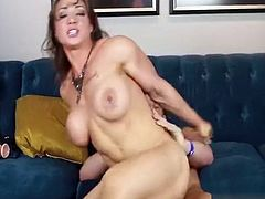 Enjoy gorgeous Brandi Mae fuck a horny homosexual with a huge Strapon fuck with guy & pec bounce cum . Enjoy in HD video today