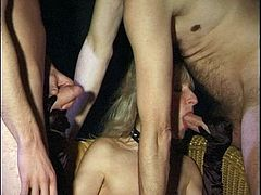36 2-3 GANGBANG BUKKAKE CUMSHOTS SPERM SWALLOWING