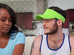 Obviously, this perky guy is superfluous in their combination. Ryan Keely and Jezabel Vessir seem to be made for each other. Like day and night, like chocolate and milk. I guarantee that you will not be able to erase this amazing lesbian sex session from memory. So hot!!!