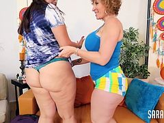 sara jay with fit sydney i dont know how to start describing these two super sluts tremendous chubby whores with tremendous asses with tremendous boobs with tremendous pussies sara jay is getting better every day the ass and legs she has make me dick very Very hard she is the most perfect mature and seeing her eat Sydneys pussy is a pleasure they are wonderful these two sluts together will make millions of liters of milk run.