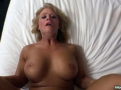 Mom pov bambie 49 years milf pussy and cowboy boots