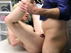 BUSTY MILF Jenna Fireworks got FUCKED for some food